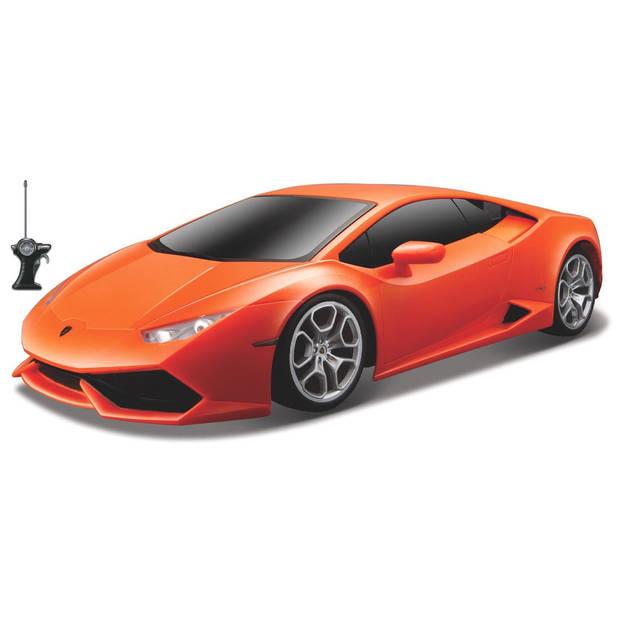 Maisto Lamborghini Hurucan LP 610-4 1:24 27/40 MHz oranje