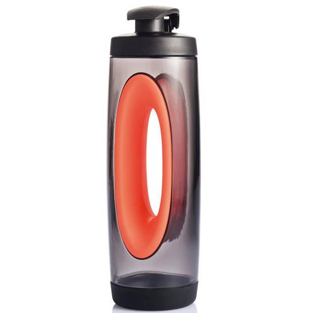 XD Design bidon Bopp 0,5 liter 24,1 x 6,8 cm rood