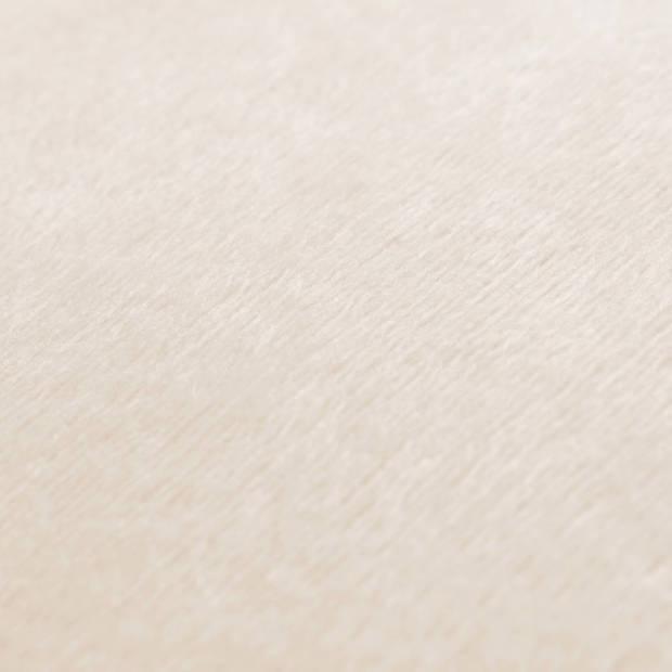vidaXL Sierkussenhoezen 50x50 cm velours gebroken wit 4 st
