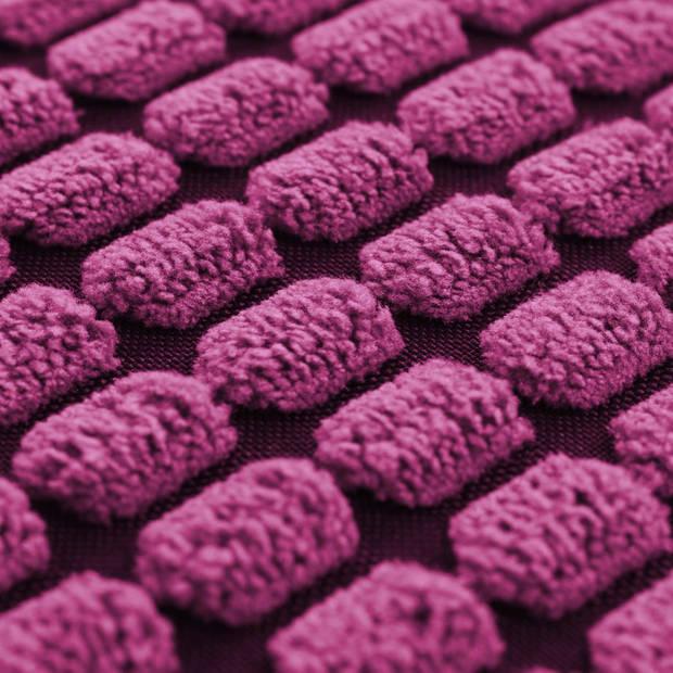 vidaXL Sierkussenset 40x60 cm velours roze 2-delig