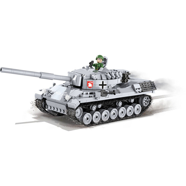 Korting Cobi bouwpakket Small Army Tank junior 25 cm grijs 661 delig