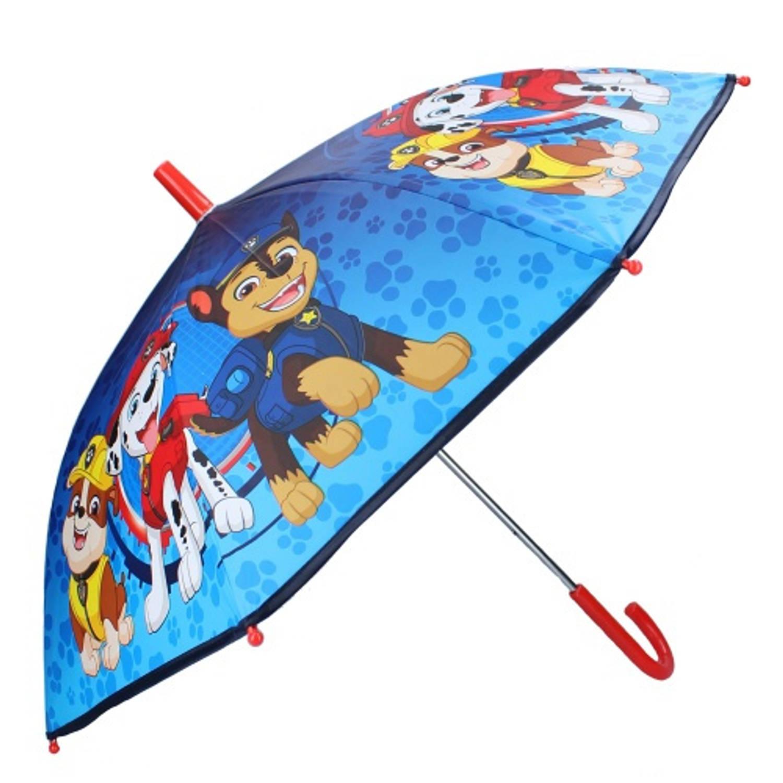 Nickelodeon Kinderparaplu Paw Patrol 70 Cm Polyester/rvs Blauw