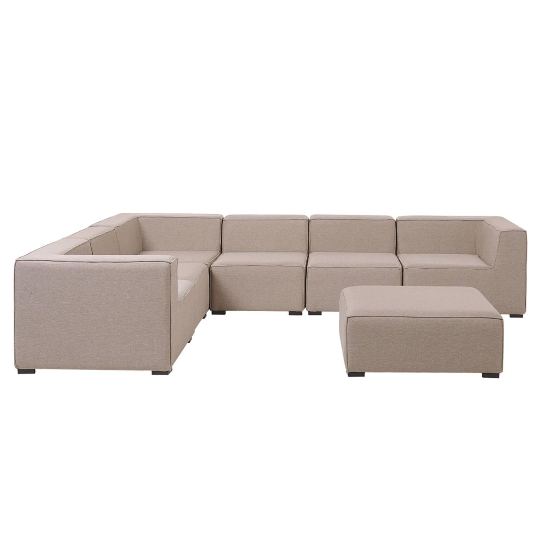 Beliani AREZZO Loungeset Polyester 250 x 320 cm