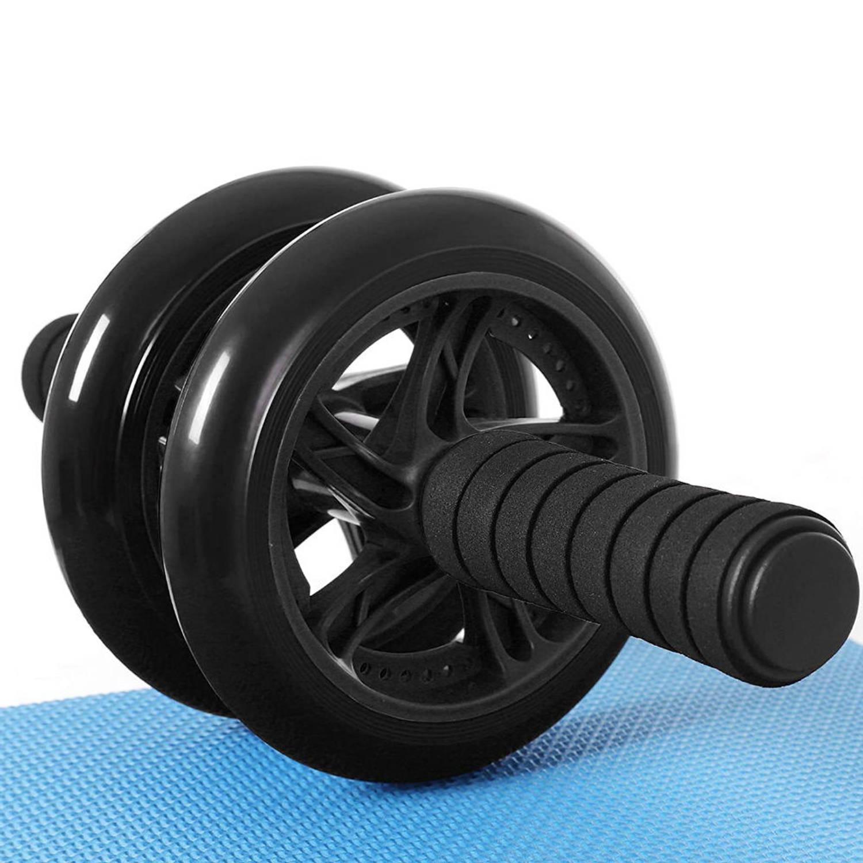 AB Roller Zwart Trainingswiel voor buikspieren Buikspiertrainer