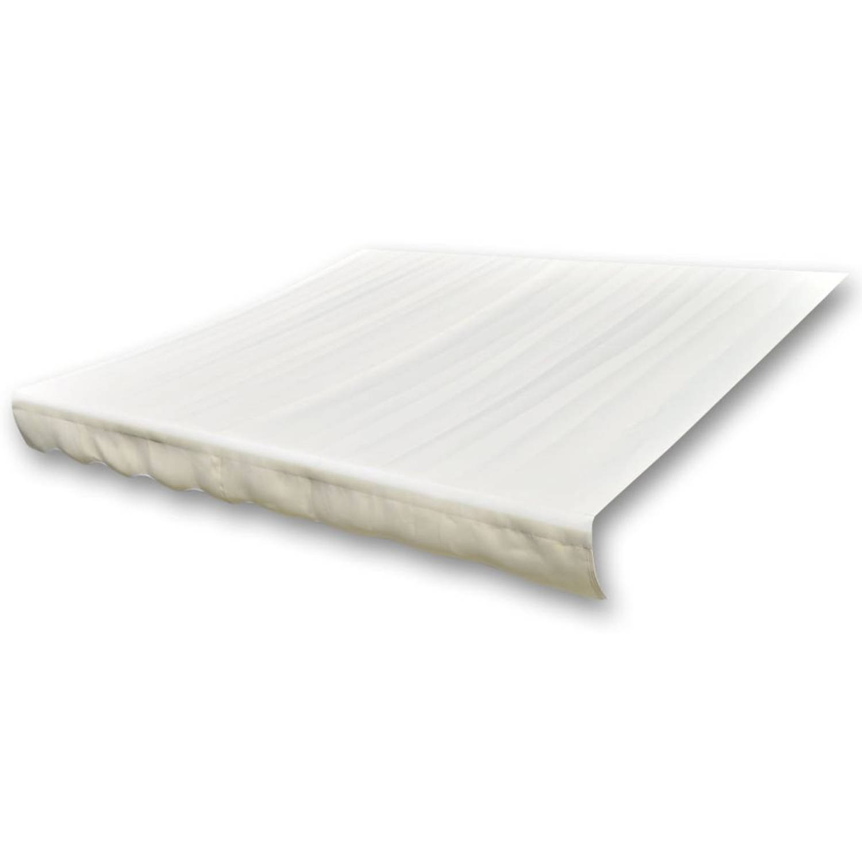 vidaXL Luifeldoek 6x3 m canvas crème