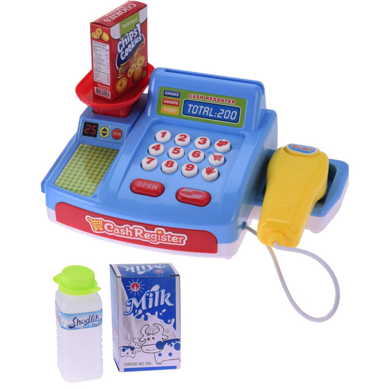 Speelgoed Kassa Met Boodschappen Voor Meisjes Speelkassa Winkeltje Spelen Kinderspeelgoed