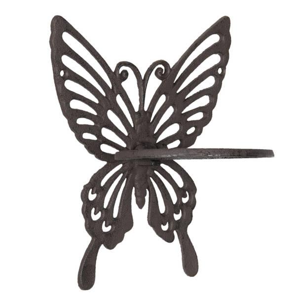 Clayre & Eef Bloempot Binnen Vlinder 6Y3008 vlinder 18*15*23 cm -