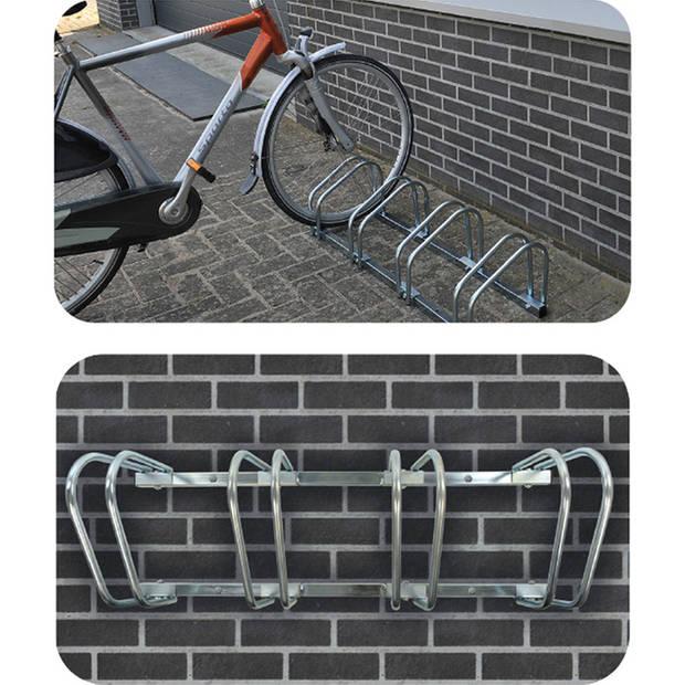 Fietsenrek / fietsenstandaard voor 4 fietsen - 59 x 34,5 x 25,5 cm - fietsen stalling