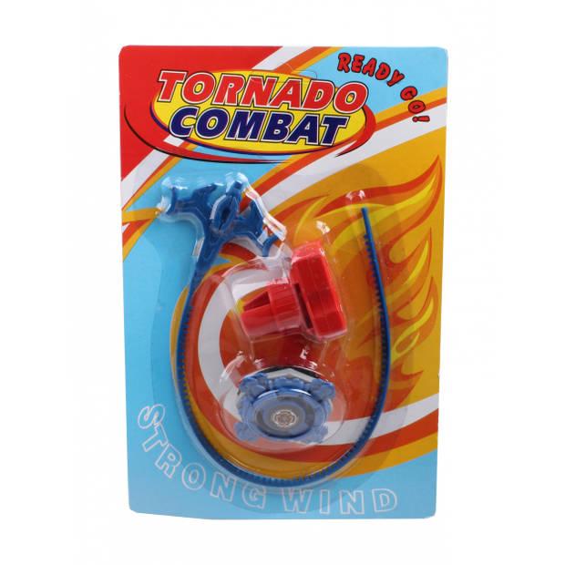 LG-Imports tol Tornado Combat junior 22,5 x 15 cm blauw