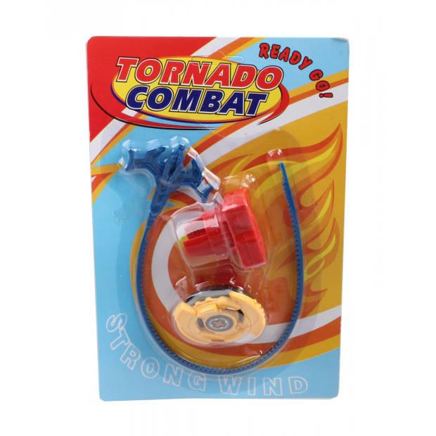 LG-Imports tol Tornado Combat junior 22,5 x 15 cm geel