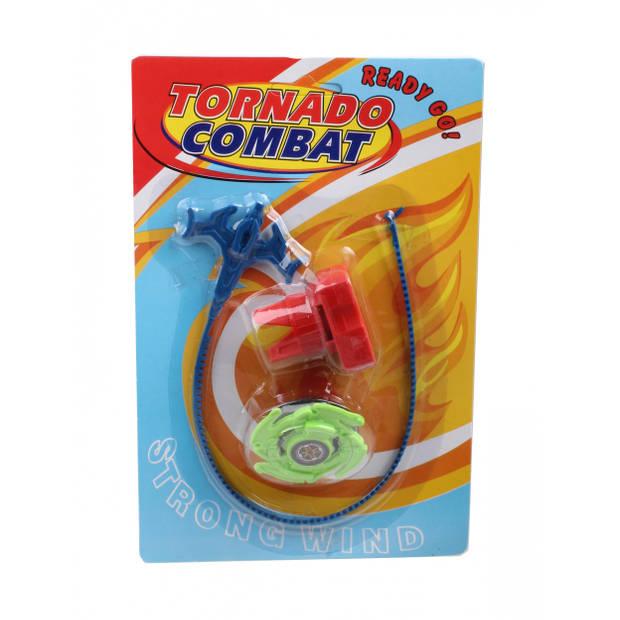 LG-Imports tol Tornado Combat junior 22,5 x 15 cm groen