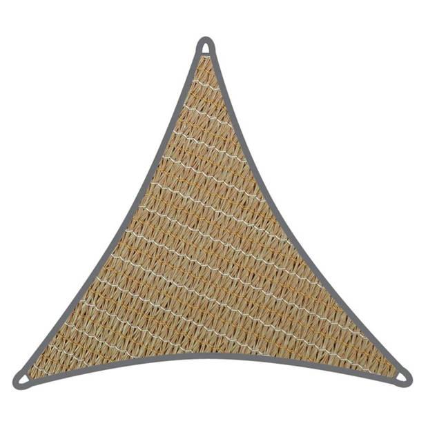 Velleman Coolaroo schaduwdoek driehoek 5x5x5m Zand