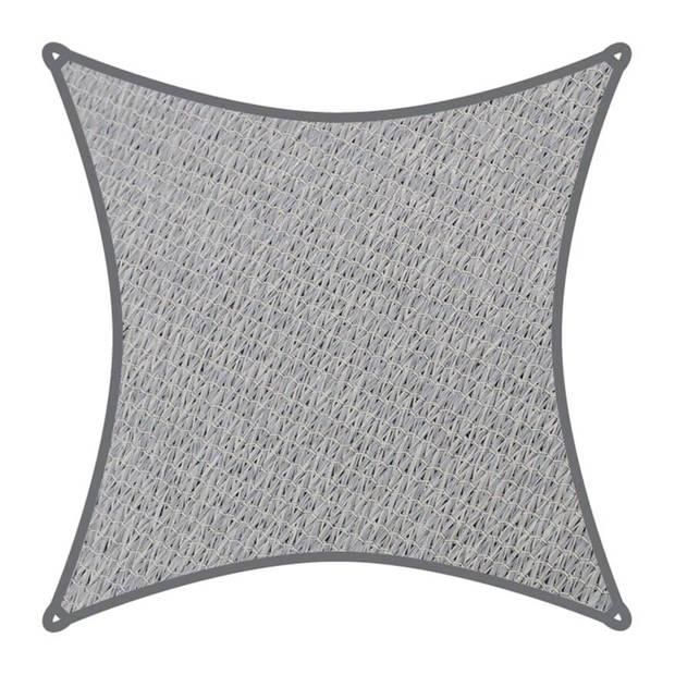 Velleman Coolaroo schaduwdoek vierkant 5,4x5,4m Grijs