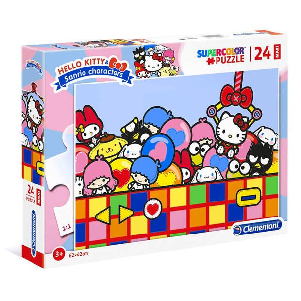 Clementoni legpuzzel Maxi Hello Kitty 24 stukjes