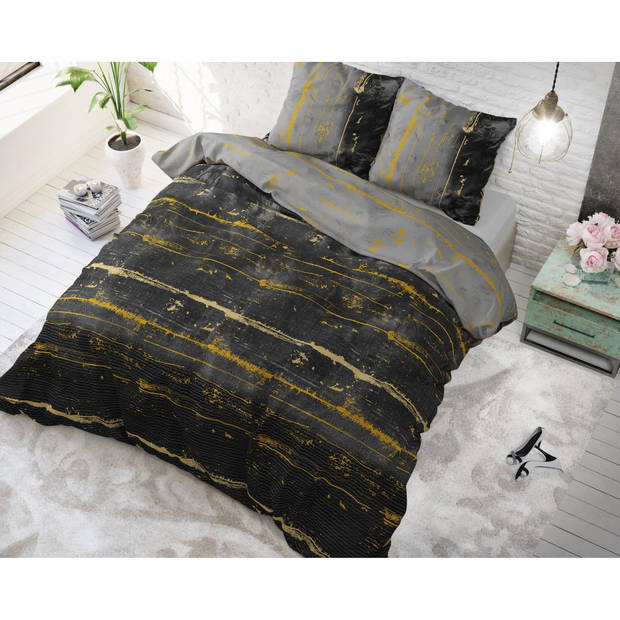 Sleeptime DBO ST ELG Scratchy Anthracite 140x220