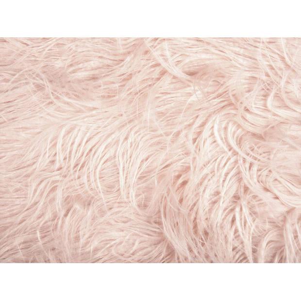 Beliani MANHATTAN Hocker Polyester 33 x 44 cm