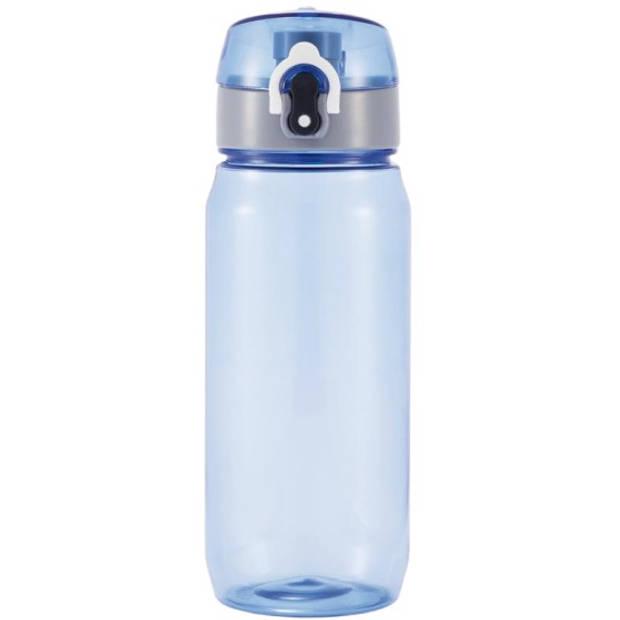 XD Design bidon Tritan 0,6 liter 21 x 7,4 cm blauw