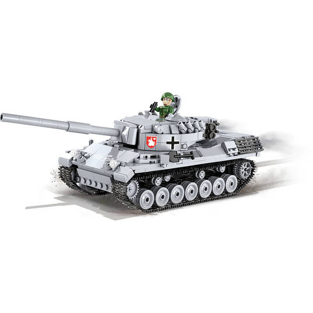 Cobi bouwpakket Small Army Tank junior 25 cm grijs 661-delig