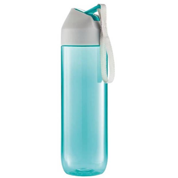 XD Design bidon Neva 0,5 liter 22,2 x 6,2 cm turquoise