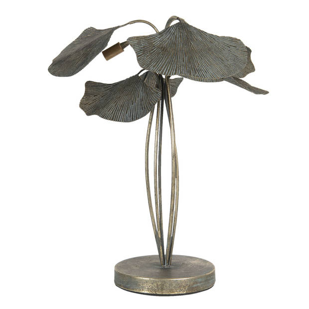 Tafellamp 38*38*54 cm Grijs Metaal Clayre & Eef 6LMP694