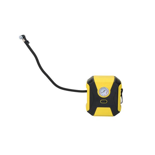 Dunlop Luchtcompressor - 12 Volt - 3 Adapters - Luchtpomp