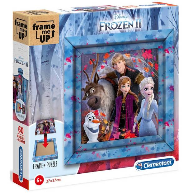 Clementoni legpuzzel Frozen II meisjes 27 cm karton 61-delig