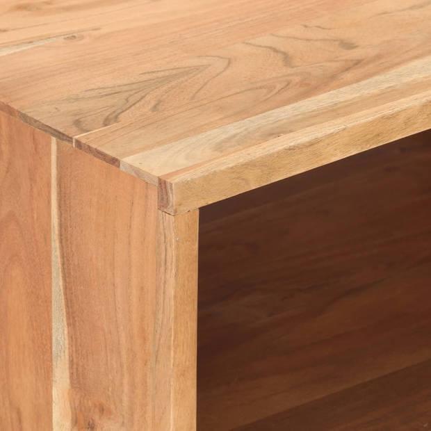 vidaXL Salontafel 100x50x45 cm massief acaciahout