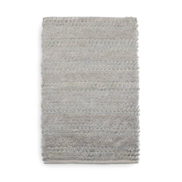 Heckett Lane Badmat Roberto - 60x100cm light grey