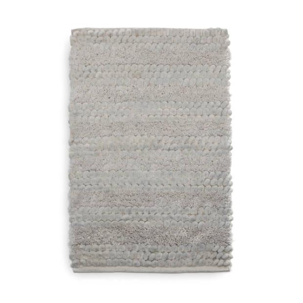 Heckett Lane Badmat Roberto - 70x120cm light grey