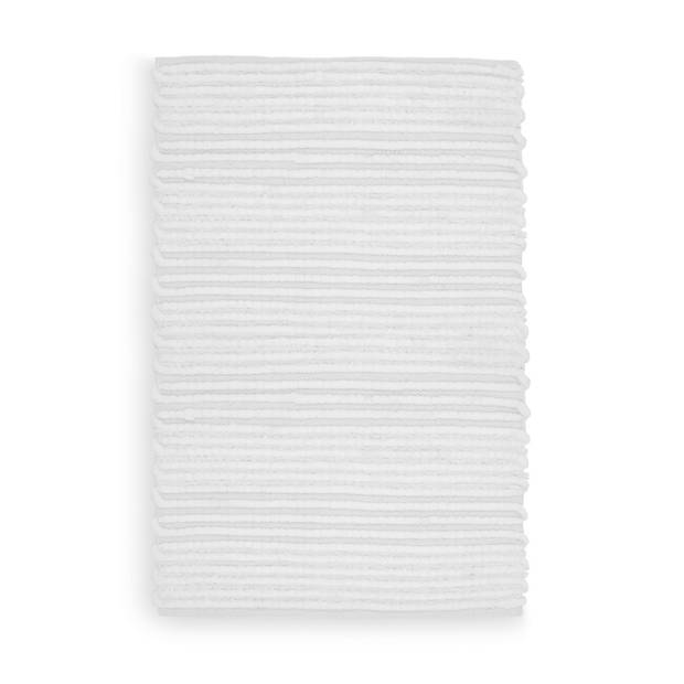 Heckett Lane Badmat Solange - 70x120cm white