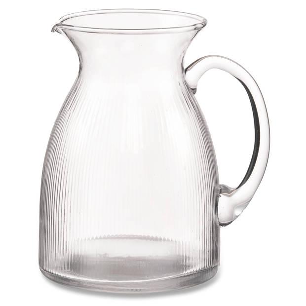 Blokker SH karaf - ribbel - 1.3 Liter
