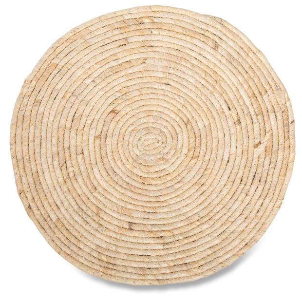 Blokker placemat - riet - ø38 cm