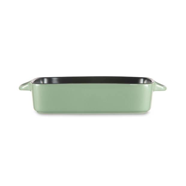 Blokker ovenschaal - groen - 26x16x5,4 cm - 1 liter