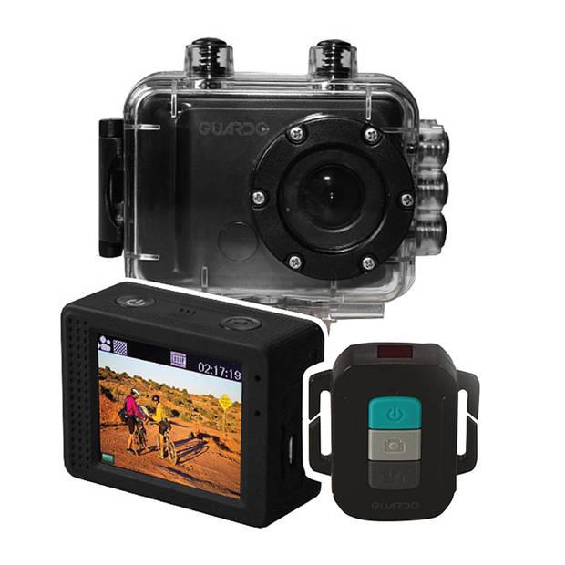 """MaxiMondo Actioncam - Full HD - 2.0"""" Scherm - Waterdicht tot 40 Meter - Afstandsbediening"""