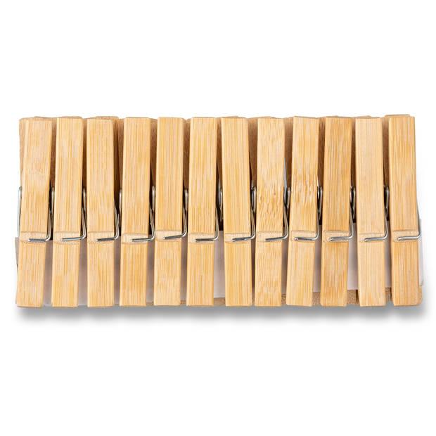 Blokker wasknijpers 24st bamboe