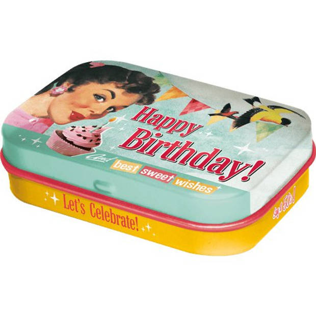 Mint box Happy Birthday Nostalgic Art