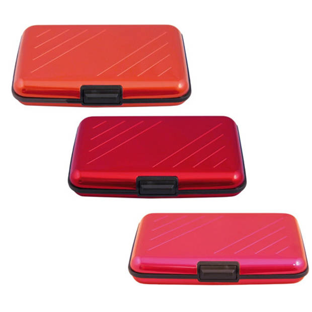 Alu Wallet Pasjeshouder - 11 kleuren