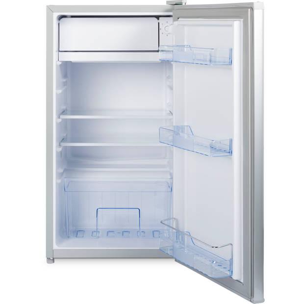 Tafelmodel koelkast KS-91 – Zilverkleurig – 90 Liter