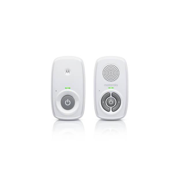 Motorola MBP21 Audio Babyfoon - Digitaal - DECT - 300 Meter Bereik - Hooggevoelige Microfoon - Wit