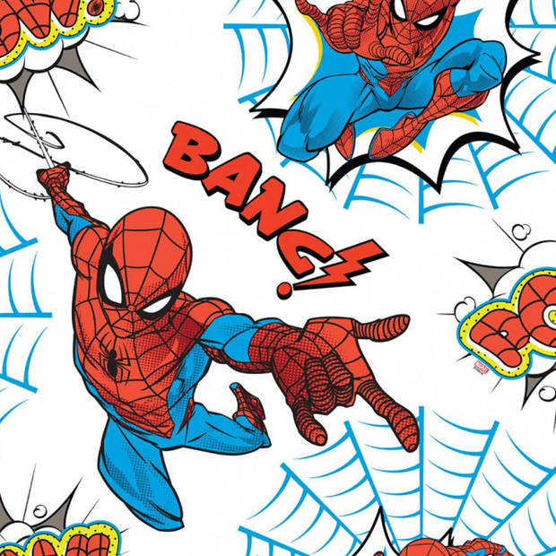 Kids at Home Behang Spiderman Pow wit