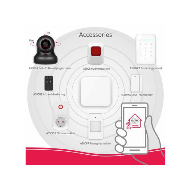 ELRO AS90RE Afstandsbediening voor ELRO AS90S Home+ Alarmsysteem