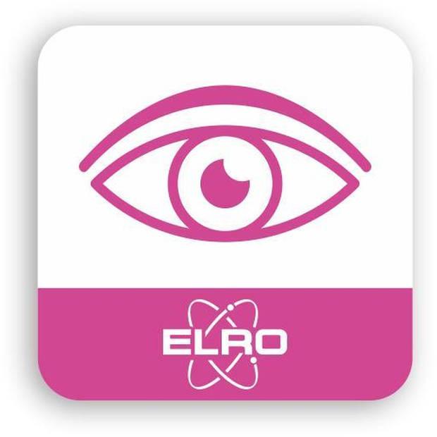 ELRO CC4000 1080P Full HD Pan/Tilt IP Wifi Beveiligingscamera