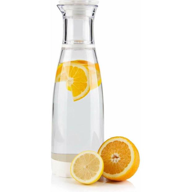 Grunwerg Infuser fruitwater karaf 1,3 liter - Transparant/Wit
