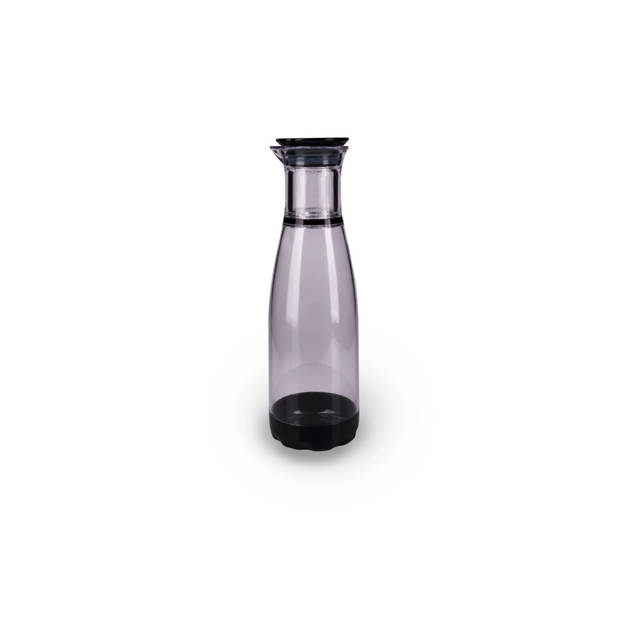 GrunwergInfuserfruitwaterkaraf1,3liter-Transparant/Zwart