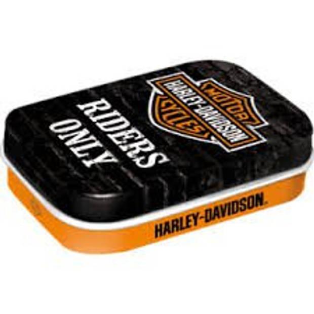 Mint box Harley Davidson - Riders Only Nostalgic Art