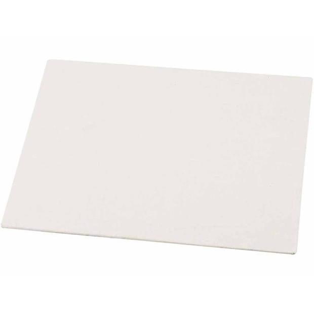 10x Canvas schilderijen maken dun doek/paneel 15 x 21 cm - Hobby schilderdoeken / borden