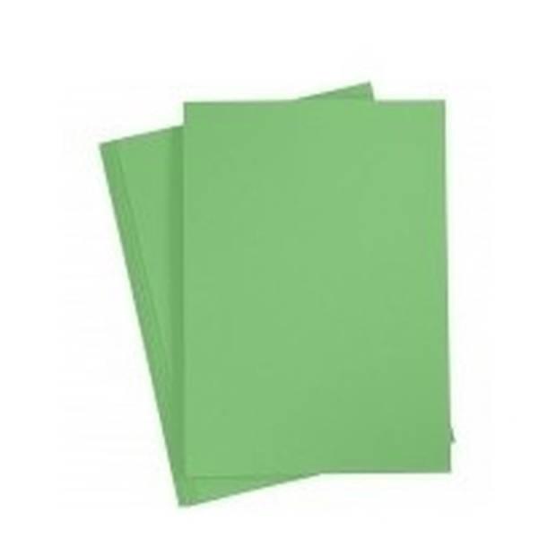10 Stuks karton knutselvellen groen - Hobby papier - Hobbymaterialen