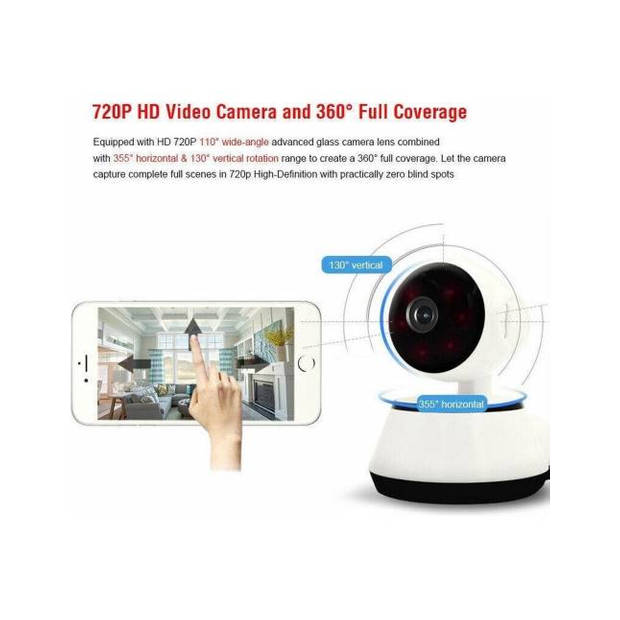 Wifi Smart Net Camera - Met Motion Tracking - Met Alarm