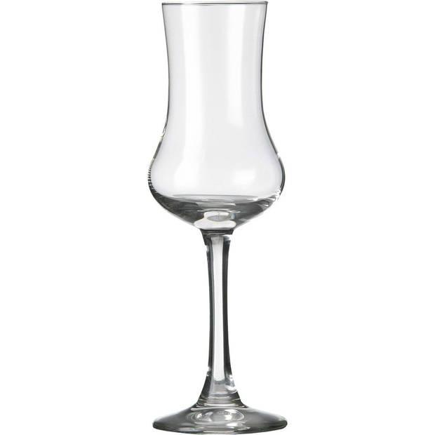 12x Likeur/borrelglazen transparant 90 ml Specials serie - 9 cl - Likeurglazen