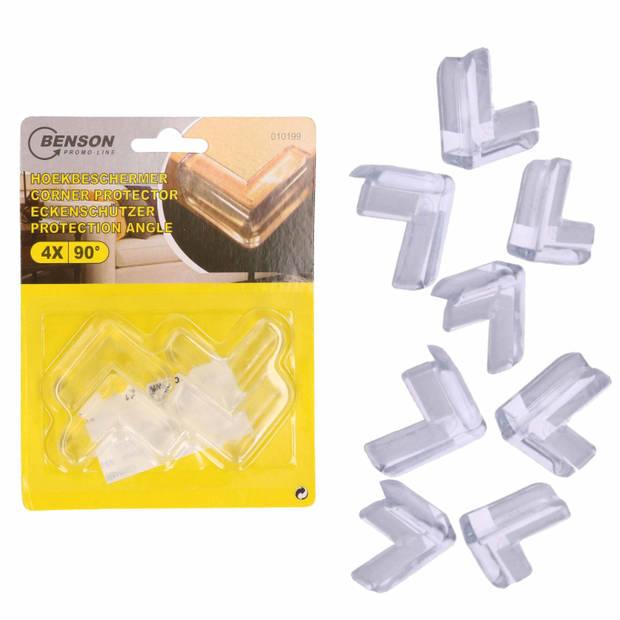 Hoekbeschermer voor de baby - 12x stuks - voor tafel / kasten